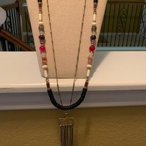 Stella and Dot 2 in 1 necklace